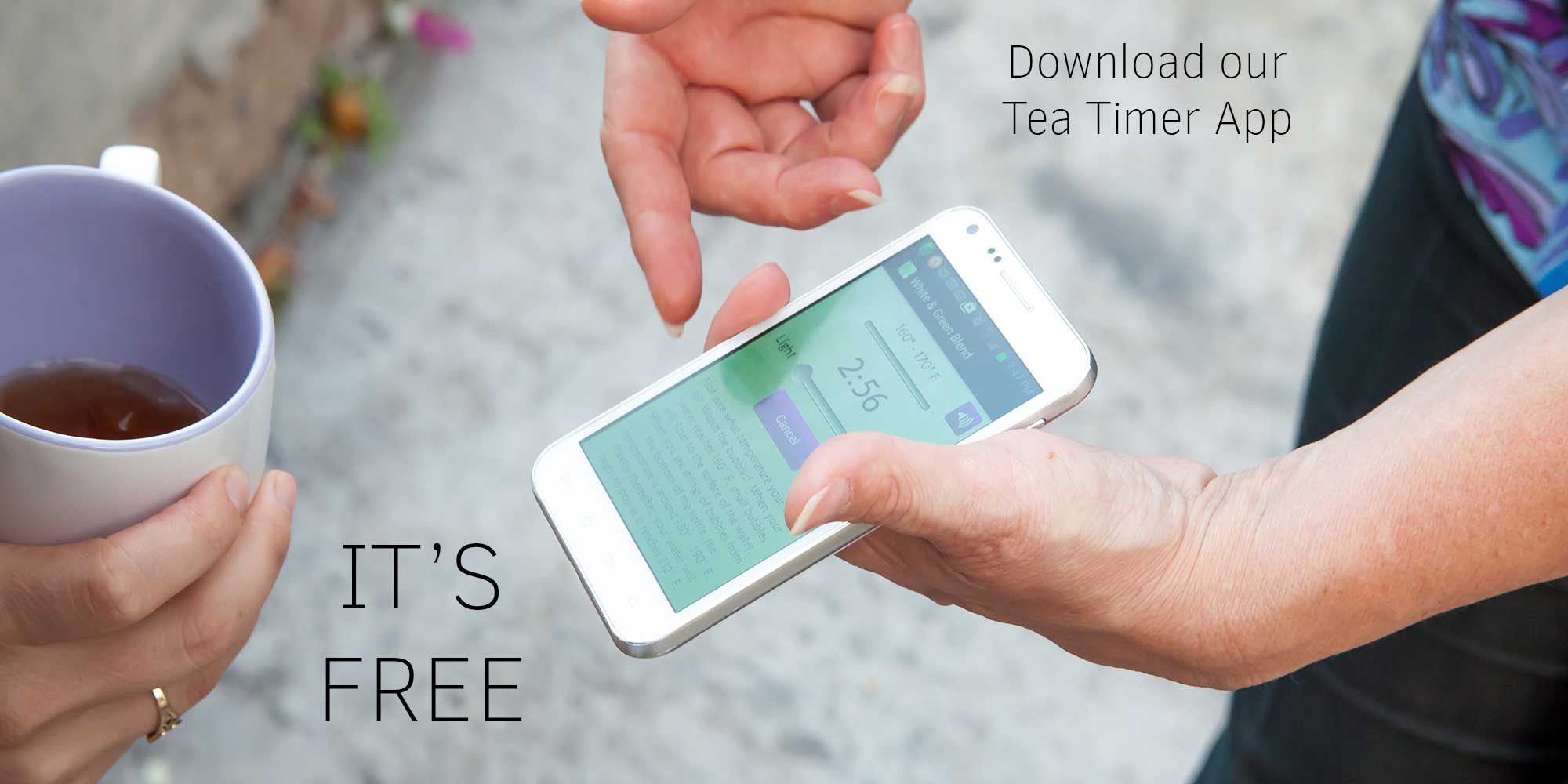 Get the Tealightful Tea Timer app